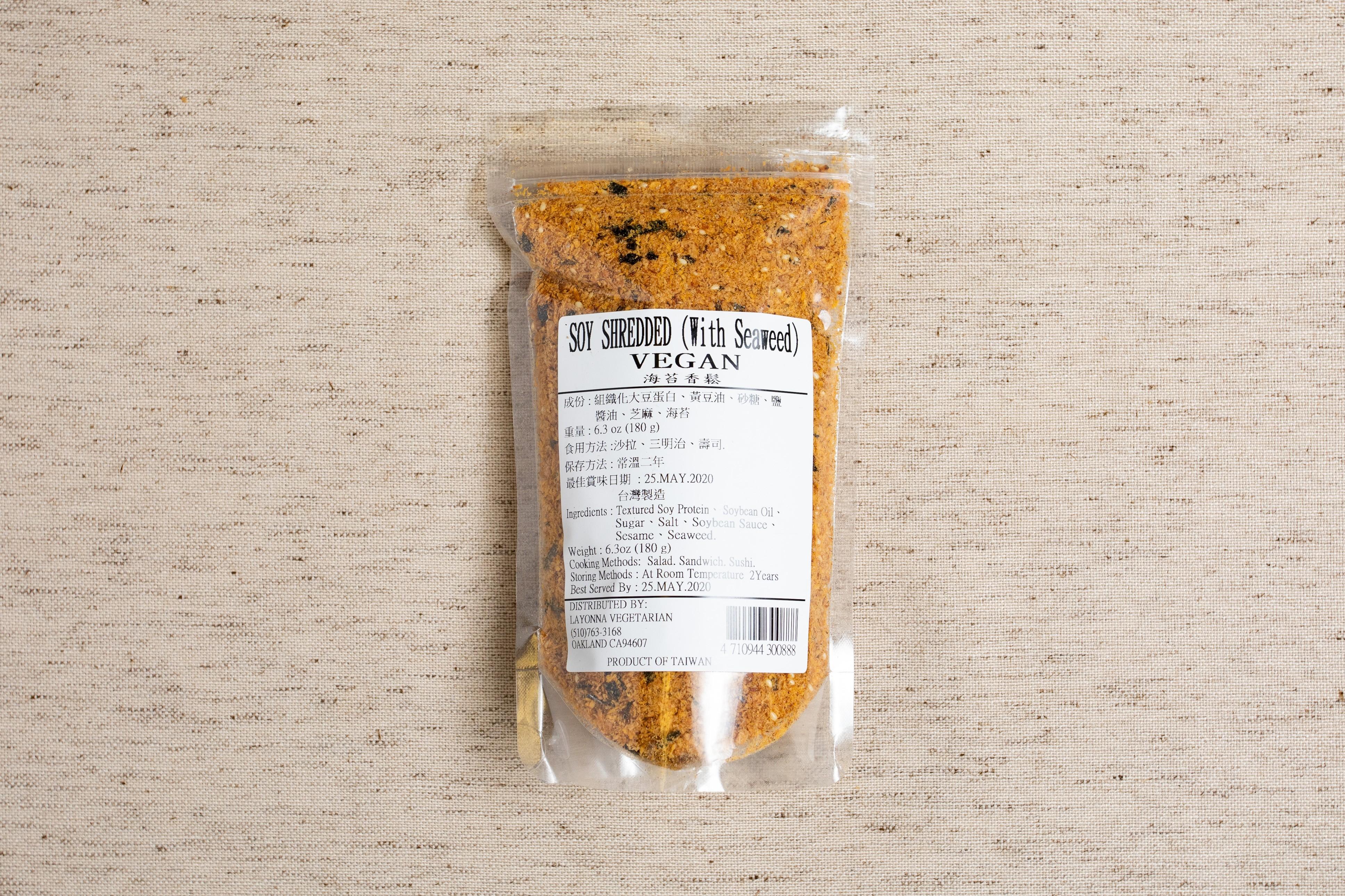Snacks-Soy Shredded (with Seaweed)