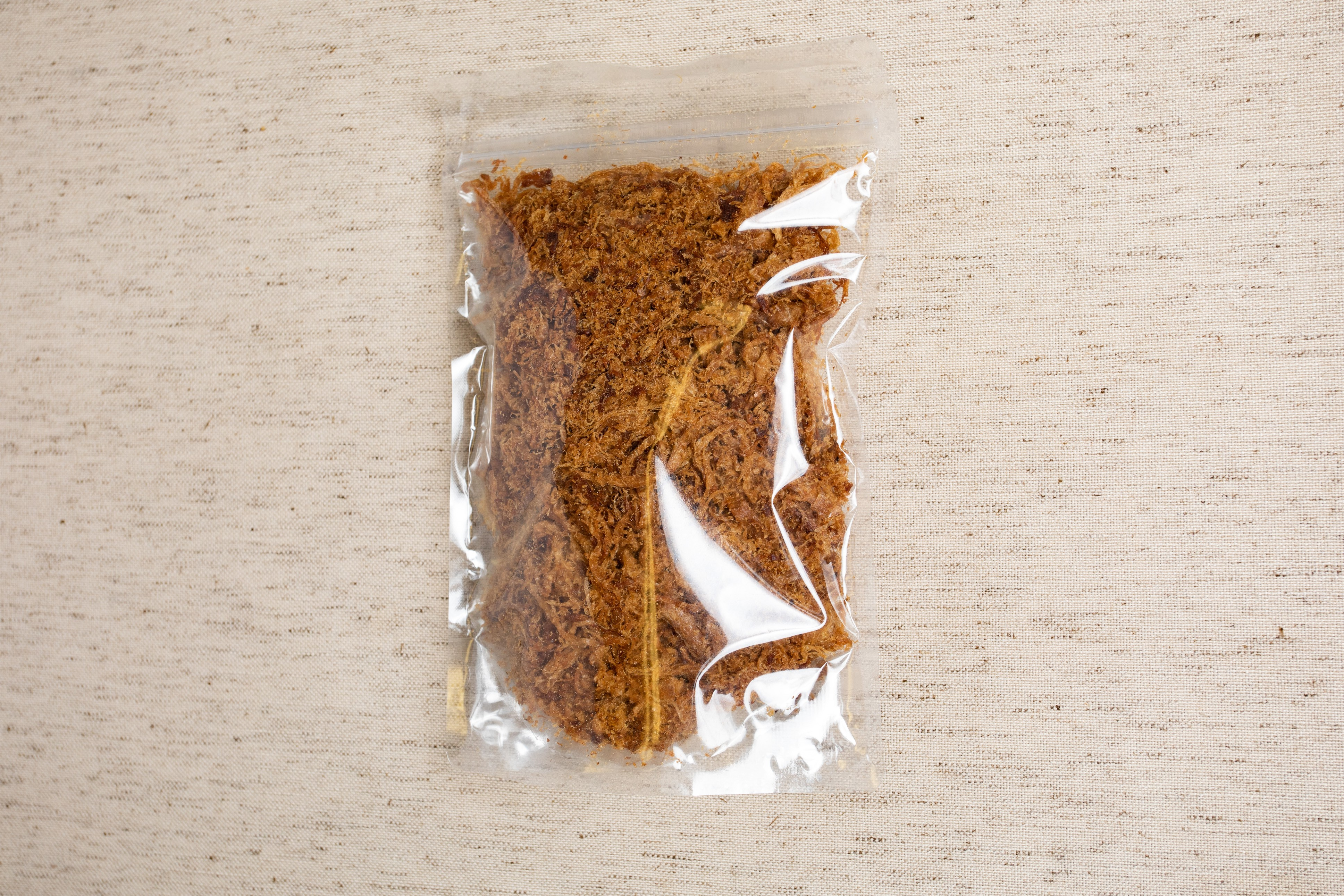 Snacks-Soybean Shred (Smaller Package) 香焙肉絲 / Soy Fiber